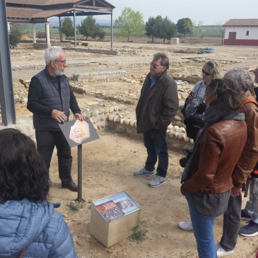Visitem la Vil·la romana del Romeral d'Albesa