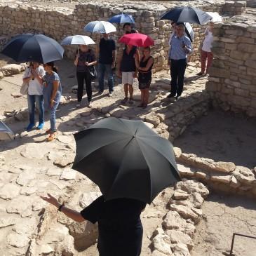 """Presentació de la proposta educativa """"Fem d'arqueòlegs"""" als Vilars d'Arbeca"""