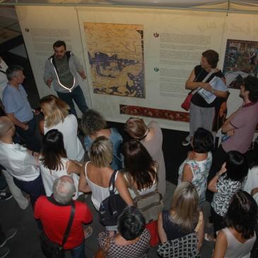 Glòria Jové (UdL) ens visita amb el claustre de professors de l'Estonnac