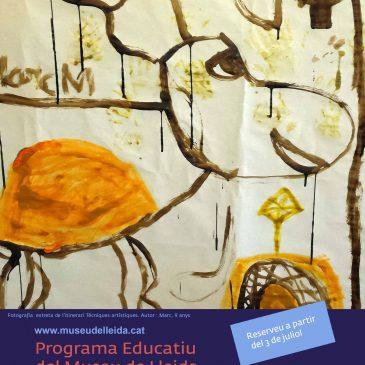 Novetats educatives del Museu de Lleida. Curs 2017-2018