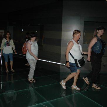 Alumnes de la fundació ONCE fan pràctiques al Museu de Lleida
