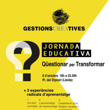 "Jornada educativa: ""Qüestionar per Transformar"""
