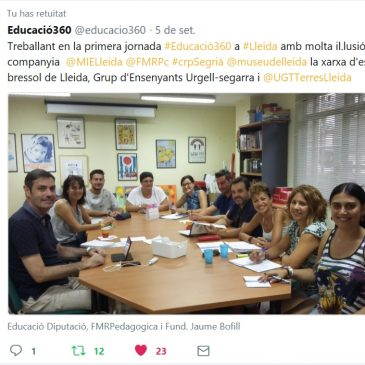 El Museu de Lleida impulsarà el projecte educació360 a les Terres de Lleida