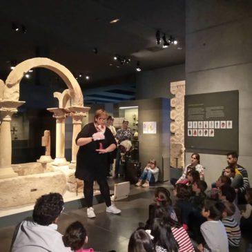 """Meritxell Morera inaugura """"Una primavera de conte"""" al Museu de Lleida"""