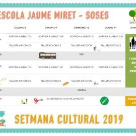 El Museu de Lleida col·labora amb la setmana cultural de l'Escola Jaume Miret de Soses